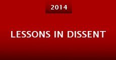 Película Lessons in Dissent