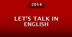 Película Let's Talk in English