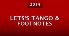 Película Lets's Tango & Footnotes