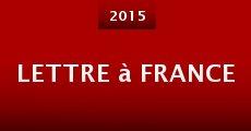 Película Lettre à France