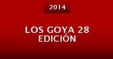 Los Goya 28 edición