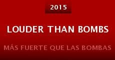 Película Louder Than Bombs