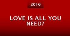 Película Love Is All You Need?