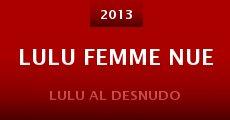 Película Lulu femme nue