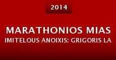 Película Marathonios mias Imitelous Anoixis: Grigoris Labrakis