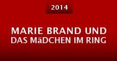 Marie Brand und das Mädchen im Ring (2014)