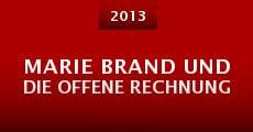 Marie Brand und die offene Rechnung (2013)