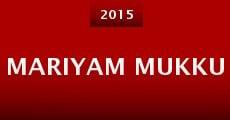 Película Mariyam Mukku