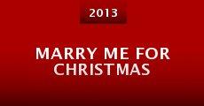 Marry Me for Christmas (2013) stream