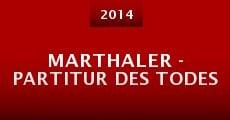 Marthaler - Partitur des Todes (2014) stream
