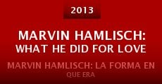 Película Marvin Hamlisch: What He Did for Love