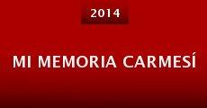 Mi Memoria Carmesí (2014) stream