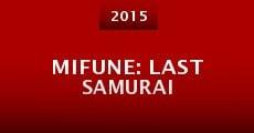 Película Mifune: Last Samurai