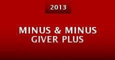 Minus & Minus Giver Plus (2013) stream
