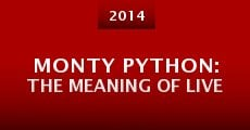 Película Monty Python: The Meaning of Live