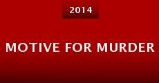 Motive for Murder (2014) stream