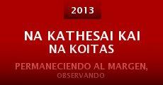 Na kathesai kai na koitas (2013)