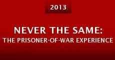 Película Never the Same: The Prisoner-of-War Experience