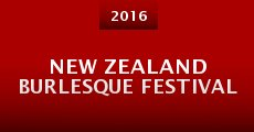 New Zealand Burlesque Festival (2016) stream