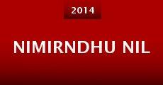 Película Nimirndhu Nil