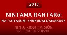 Nintama Rantarô: Natsuyasumi shukudai daisakusen! no dan (2013)