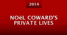 Película Noël Coward's Private Lives