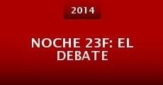 Película Noche 23F: El debate