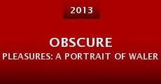 Película Obscure Pleasures: A Portrait of Walerian Borowczyk