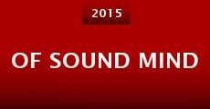 Of Sound Mind (2015) stream