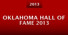 Película Oklahoma Hall of Fame 2013