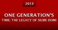 Película One Generation's Time: The Legacy of Silme Domingo and Gene Viernes