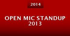 Película Open Mic Standup 2013