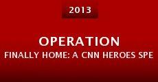 Película Operation Finally Home: A CNN Heroes Special Presentation