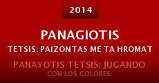 Película Panagiotis Tetsis: Paizontas me ta hromata