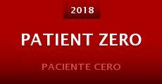 Película Patient Zero