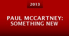 Paul McCartney: Something New (2013)