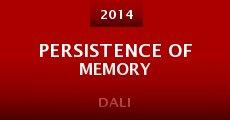 Película Persistence of Memory