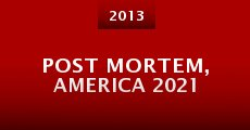 Película Post Mortem, America 2021