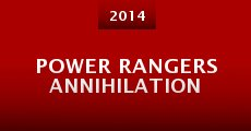 Power Rangers Annihilation (2014) stream
