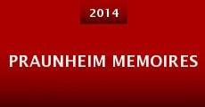 Película Praunheim Memoires
