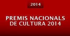 Película Premis Nacionals de Cultura 2014