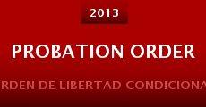 Probation Order (2013) stream
