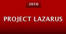 Película Project Lazarus