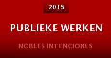 Publieke Werken (2015) stream