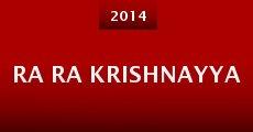 Película Ra Ra Krishnayya