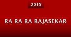 Película Ra Ra Ra Rajasekar