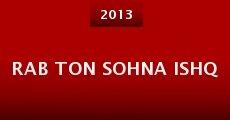 Rab Ton Sohna Ishq (2013)