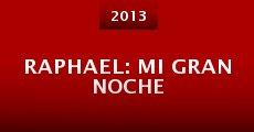 Película Raphael: Mi gran noche