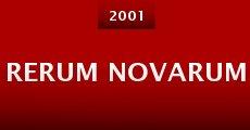 Película Rerum Novarum
