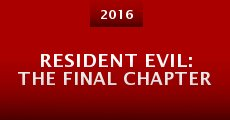 Resident Evil: The Final Chapter (2016) stream